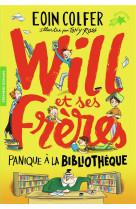 Will et ses freres - t01 - panique a la bibliotheque