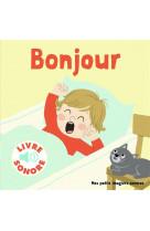 Bonjour ! - 6 scenes, 6 images, 6 sons
