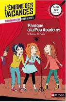 L-enigme des vacances du cm2 a la 6e - panique a la pop academy
