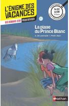 L-enigme des vacances du ce2 au cm1 - la plage du prince blanc