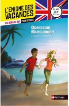 L-enigme des vacances de la 5eme a la 4eme - operation blue lagon