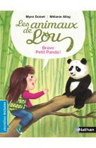 Les animaux de lou: bravo, petit panda !