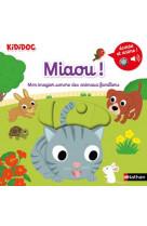 Miaou ! mon imagier sonore des animaux familiers - vol08