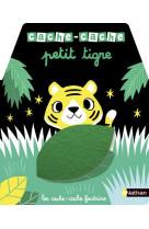 Cache-cache petit tigre