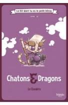 Chatons et dragons la bd dont tu es le petit heros - le choukra