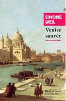 Venise sauvee
