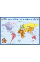 Posters recto verso/ma premiere carte du monde