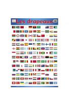 Posters recto verso/les drapeaux