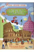 Voyage, decouvre, explore - rome