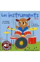 Les instruments - vol02 - 6 sons a ecouter, 6 images a regarder