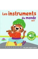 Les instruments du monde - vol01 - 6 images a regarder, 6 sons a ecouter