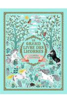 Le grand livre des licornes - l-album a colorier