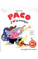 Paco. j-aime la musique - 24 puces sonores a ecouter