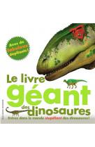 Le livre geant des dinosaures