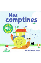 Mes comptines - vol01 - 6 images a regarder, 6 comptines a ecouter