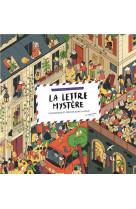 La lettre mystere. un cherche et trouve dans la ville