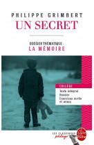 Un secret  -  dossier thematique: la memoire