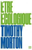 Etre ecologique