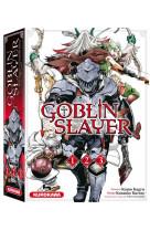 Coffret goblin slayer - tomes 1 a 3 - vol01