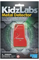 4m kidzlabs science card : detecteur de metaux