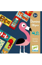 Jeux educatifs - domino animo puzzle