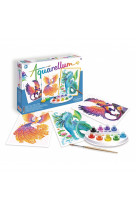 Aquarellum  : animaux mythiques