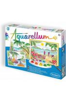 Aquarellum - paysages tropicaux 2020