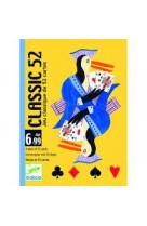 Jeu de cartes - classic 52