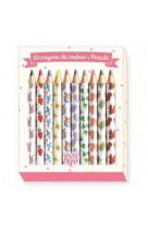 Crayon - 10 crayons de couleur