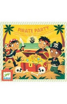 Jeu anniversaire - pirate party