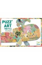 Puzz-art - baleine - 150 pcs