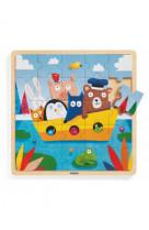 Puzzle bois : puzzlo boat