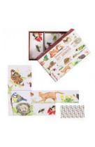 Domino-puzzle des animaux le jardin du moulin