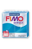 Fimo effect 57g bleu translucide