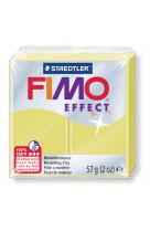 Fimo effect 57g jaune citrine