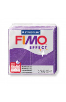 Fimo effect 57g lilas  paillete