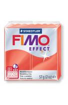 Fimo effect 57g rouge translucide