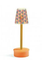 Maison de poupees - mobilier - lampe pied