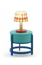 Maison de poupees - mobilier - lampe table