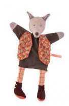 Marionnette loup le gentleman -il etait une fois