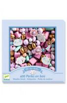 Foison de perles - perles en bois arc-en-ciel