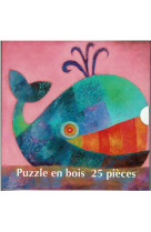 Puzzle baleine bois 19x19