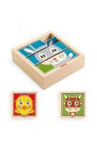 9 cubes puzzle : tournifarm